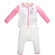 JEEP BABY PINKY DRAGONFLY LONG SLEEVE TOP & PANT SET