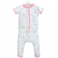 JEEP BABY PINKY DRAGONFLY SHORT SLEEVE TOP & PANT SET