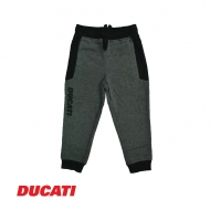 DUCATI KID BOY RELAXED JOGGER PANT - CHARCOAL