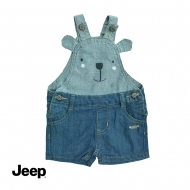 JEEP BABY BOY DENIM OVERALL -BLUE