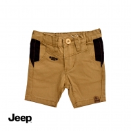 JEEP BABY BOY BERMUDA SHORT PANTS -KHAKI