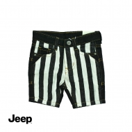 JEEP BABY BOY BERMUDA SHORT PANTS -BLACK