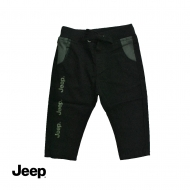 JEEP BABY BOY PULL ON PANTS -DARK OLIVE
