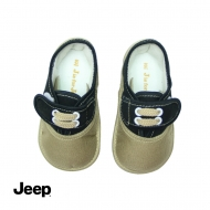 JEEP BABY BOY WALKING SHOES -KHAKI
