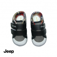 JEEP BABY BOY WALKING SHOES -GREY
