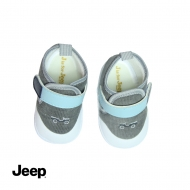JEEP BABY BOY SOFT BOOTIES -GREY