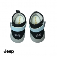 JEEP BABY BOY SOFT BOOTIES -BLACK