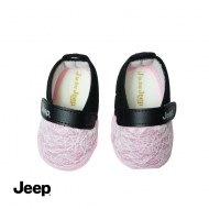 JEEP BABY GIRL SOFT BOOTIES -PINK