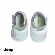 JEEP BABY GIRL SOFT BOOTIES- WHITE