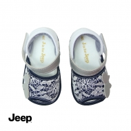 JEEP BABY GIRL WALKING SHOES -NAVY BLUE
