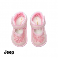 JEEP BABY GIRL WALKING SHOES -PINK
