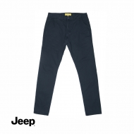 JEEP MEN COTTON LONG PANTS (SLIM FIT) - GREY