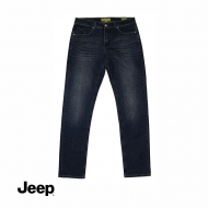 JEEP MEN DENIM LONG PANTS (SLIM FIT) - DARK NAVY