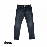 JEEP MEN DENIM LONG PANTS (SLIM FIT) - NAVY