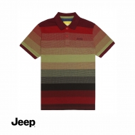 JEEP MEN SHORT SLEEVE POLO SHIRT - GREEN