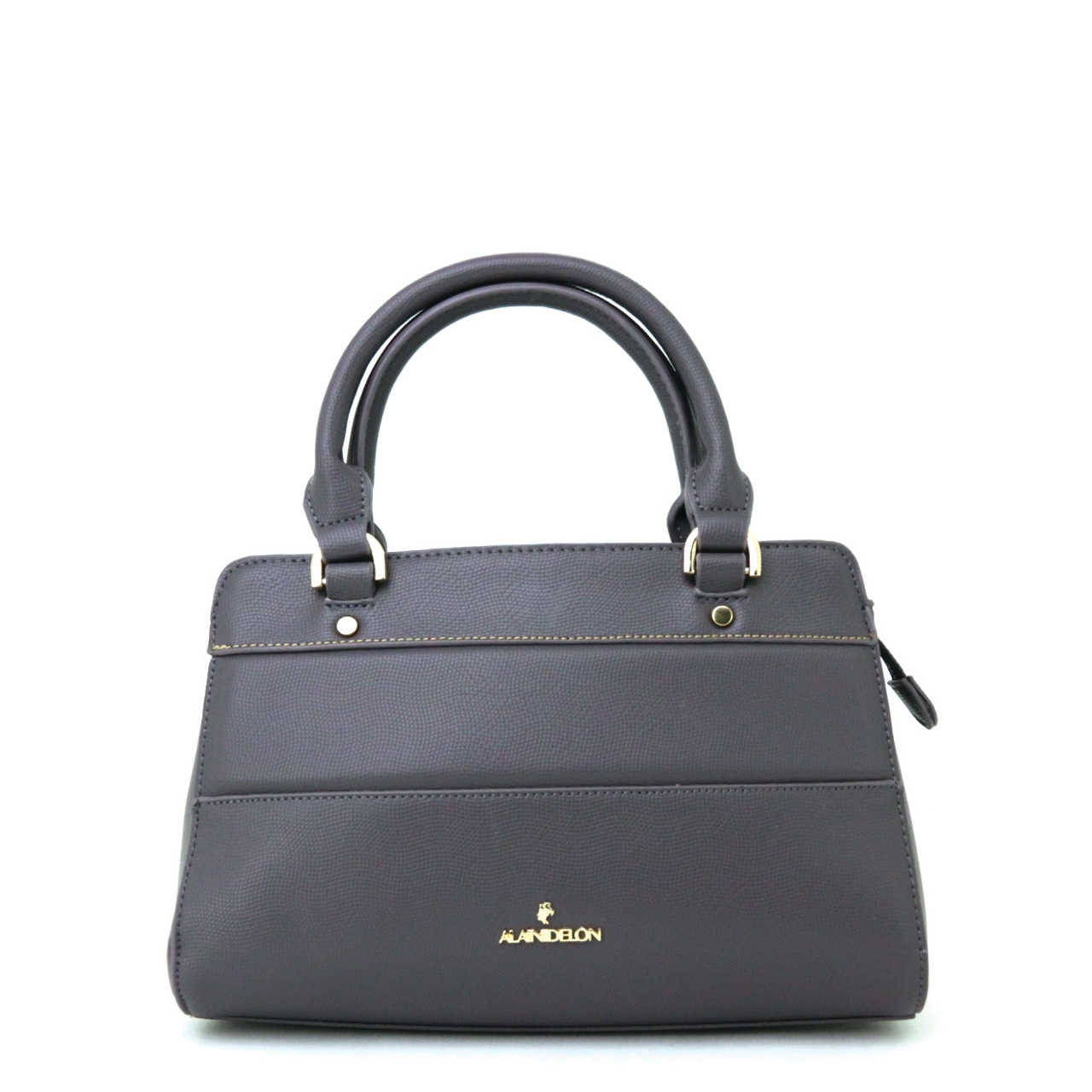 Alain Delon Classic Plain Shoulder Bag 3 1