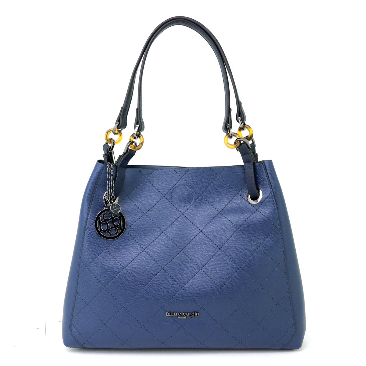 Pierre Cardin Stylish Line Sching Shoulder Bag 3 1